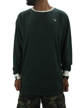 CAMISETA BLAZE LONG SLEEVE PIPE CLASSIC GREEN