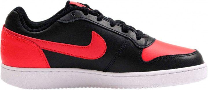 Tênis Nike Sportswear Ebernon Low Preto/Laranja