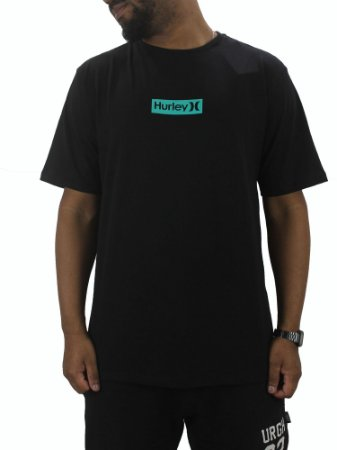 CAMISETA HURLEY BOX GREEN