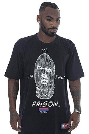 CAMISETA PRISON THE THUG PRETO