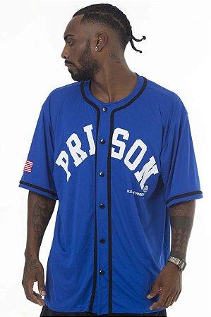 Camisa Prison Azul