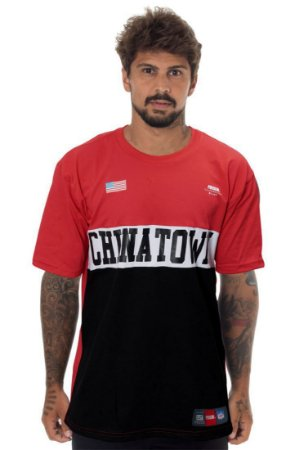 CAMISETA PRISON CHINATOWN RED