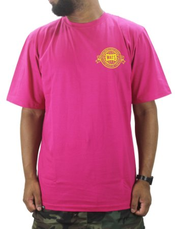 CAMISETA WATS WORLD PINK