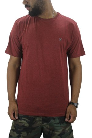 CAMISETA HURLEY ICON TYPE RED