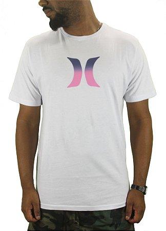 camiseta hurley icon dual preta/branca