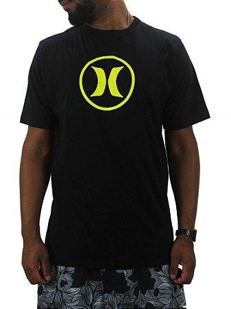 camiseta hurley neon icon