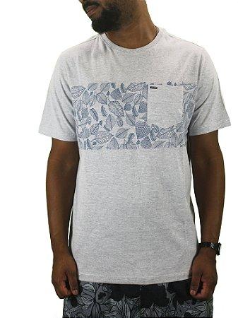camiseta wave giant flower pocket