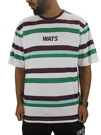 camiseta wats listrada