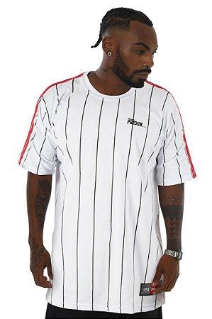 Camiseta Prison Stripe white