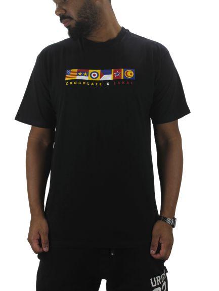 camiseta lakai x chocolate tributes