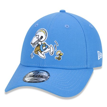 BONÉ 9FORTY NFL LOS ANGELES CHARGERS PEANUTS - SNOOPY
