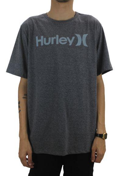 Camiseta hurley script grey