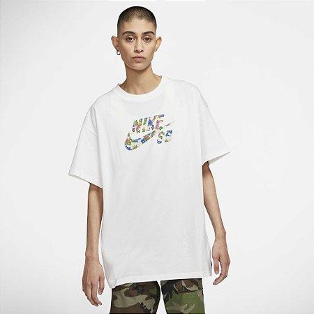 Camiseta Nike SB Masculina branca