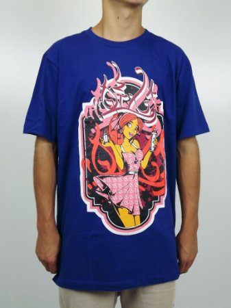 Camiseta Qix Graffiti Tag Girl