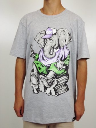 Camiseta Qix Art Elephant