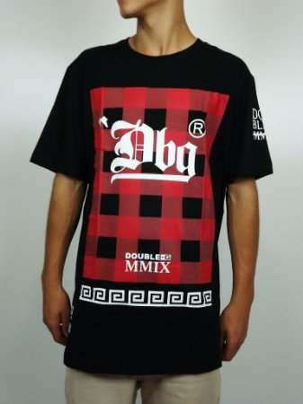 Camiseta Double-G Xadrez