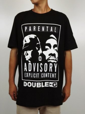 Camiseta Double-G Parental Advisory