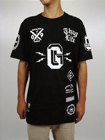 Camiseta Double-G Thug Life