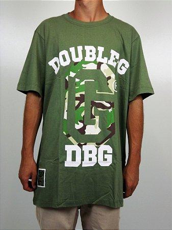 Camiseta Double-G Logo Camuflado