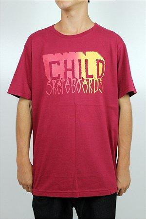Camiseta Child Letters