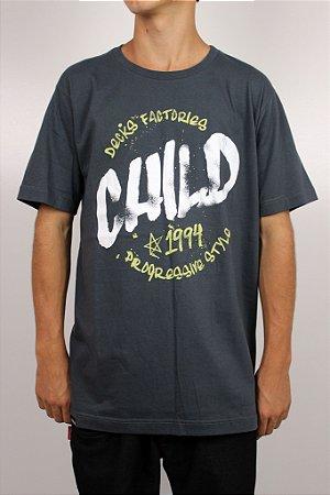 Camiseta Child Pieced Paint