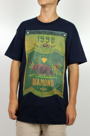Camiseta Diamond Banner x Grizzly