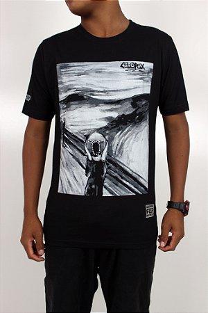 Camiseta Flip Collab Celopax Screaming