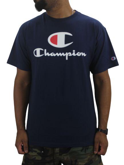 CAMISETA CHAMPION CLASSIC AZUL