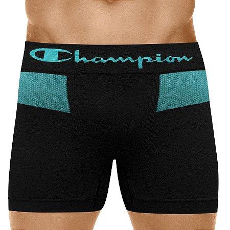 CUECA CHAMPION BASIC BLACK BLUE