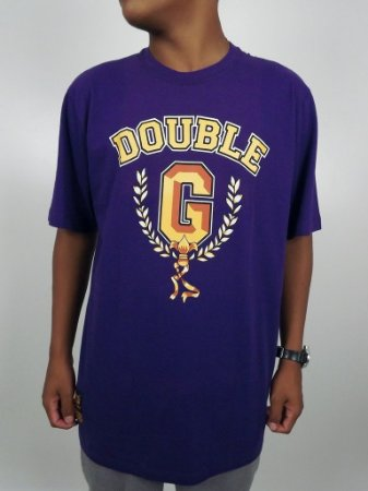 Camiseta Double-G Gold G