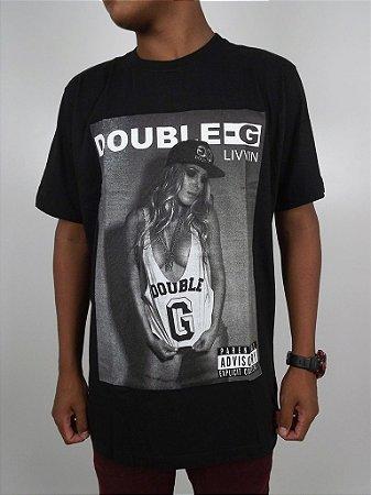 Camiseta Double-G Livvin Girl