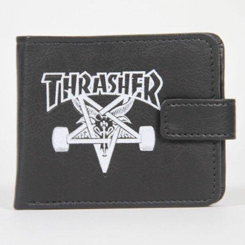 Carteira Thrasher Logo Since