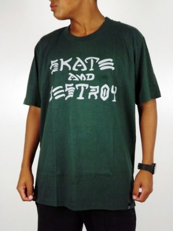 Camiseta Thrasher Skate and Destroy