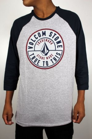 Camiseta Volcom Raglan 3/4