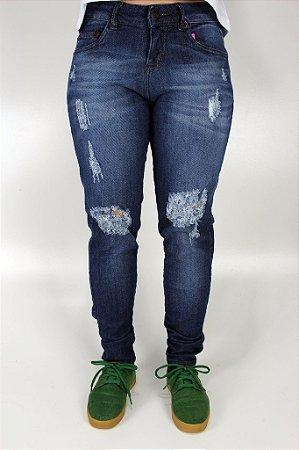 Calça QIx Missy Jeans Skinny