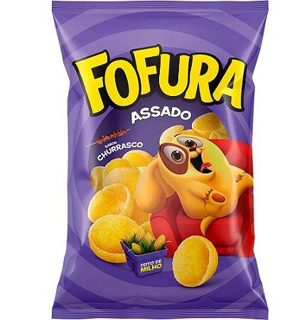 Salgadinho Fofura Churrasco 90g - Lucky kit c/ 10 pcts