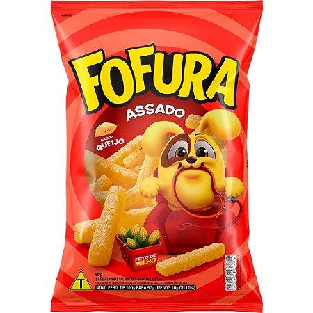 Salgadinho Fofura Queijo 90g - Lucky kit c/ 10 pcts