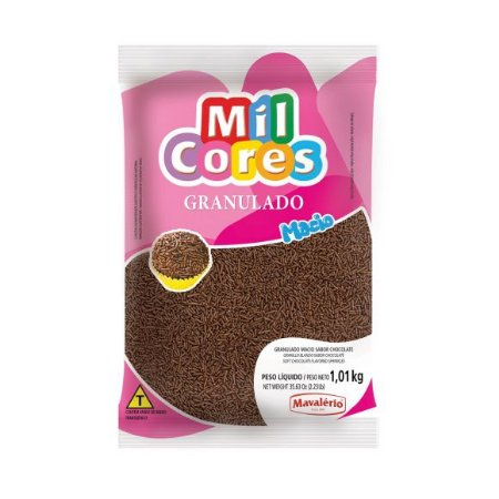 Granulado Macio Chocolate - 1,01Kg