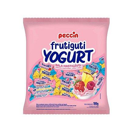 Bala Mastigável Peccin Frutiguti Yogurt - 100gr
