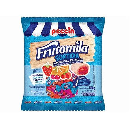 Bala Mastigável Peccin Frutomila Sortida - 500gr