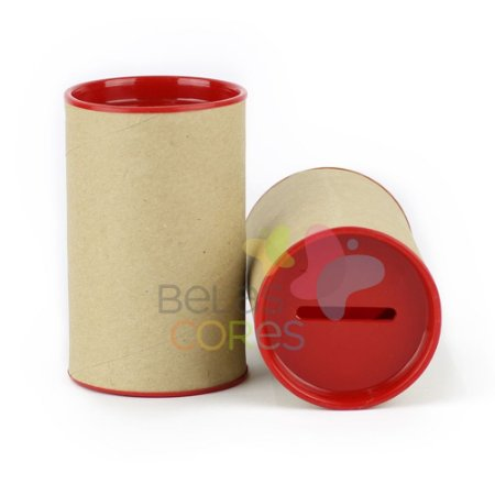 Cofrinho para Lembrancinha - Vermelho - Kit c/ 10 unidades