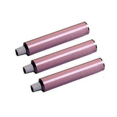 Bisnagas De Alumínio Para Brigadeiro 30gr - Cor Rosa - Kit c/ 10 unidades