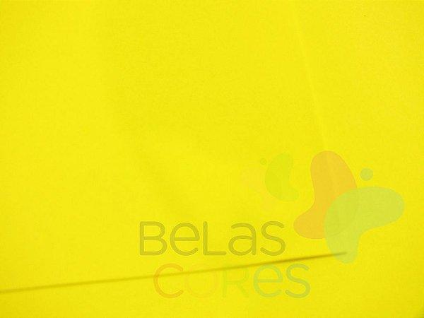 Folha de EVA 40x60cm - Amarelo Liso - 10 unidades