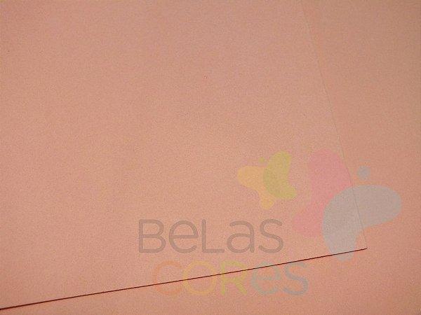 Folha de EVA 40x60cm - Salmão - 10 unidades