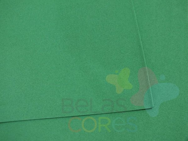 Folha de EVA 40x60cm - Verde Escuro - 10 unidades