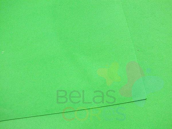 Folha de EVA 40x60cm - Verde Grama - 10 unidades