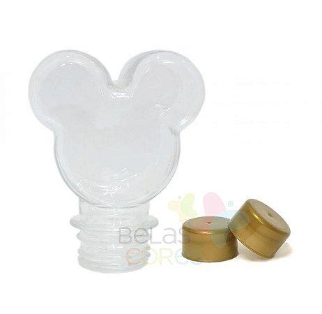 Baleiro/Tubete Mickey 90ml Tampa Dourada - 10 unidades