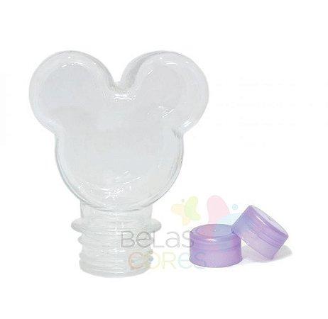 Baleiro/Tubete Mickey 90ml Tampa Lilás - 10 unidades