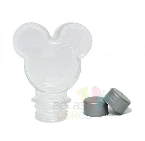 Baleiro/Tubete Mickey 90ml Tampa Prata - 10 unidades
