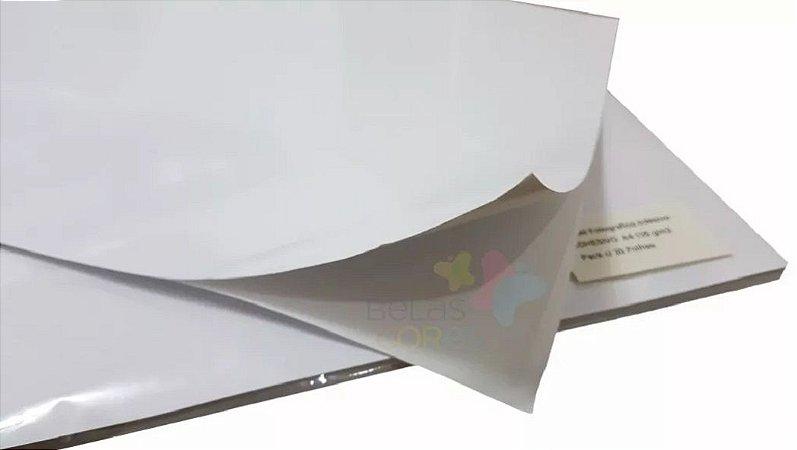 Papel Fotográfico Adesivo Glossy A4 115g - Brilhoso - 20 folhas